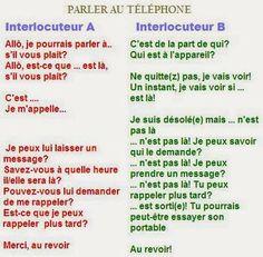Les Formules Au TéLéPhone http://www.frenchtoday.com/