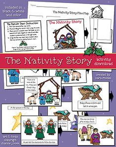 THE NATIVITY STORY ACTIVITY DOWNLOAD
