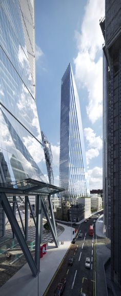 SOM's tapering skyscraper would dwarf neighbouring Cheesegrater