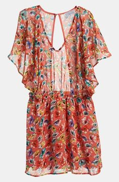 Ruffles, florals, and under $100? Need this dress.