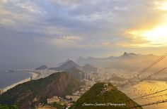 Sunset view from Pan de Sugar to the Olympic Games: thank you Rio! www.sandrosantioli.com
