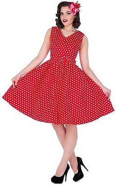 UK UK XL, Rot (red Ah), Dolly and Dotty Women's Wendy Casual Clothes NEW