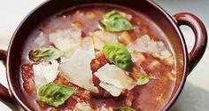 Italian Onion and Tomato Soup Gino D'Acampo Official