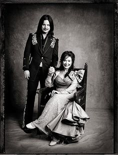 "Jack White and Loretta Lynn / 2004 / via Entertainment Weekly / the album ""Van Lear Rose"" was a great collaboration"