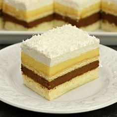 Romanian Desserts, Romanian Food, Vanilla Cake, Mousse, Cake Recipes, Biscuits, Sweet Treats, Cheesecake, Food And Drink