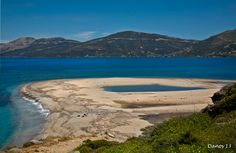 Marmari beach, South Evia Island_ Greece Beautiful Places In The World, Athens, Travel Destinations, Greece, Island, Landscape, Country, Water, Beaches