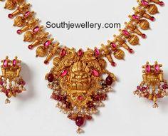 lakshmi temple jewellery necklace