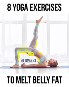 Yoga Exercises to Melt Belly Fat Become healthier and slimmer with simple rules at home! Effective yoga workouts – all you need to have a perfect body. Make your dreams come true in a flash! Fitness Workouts, Yoga Fitness, At Home Workouts, Yoga For Weight Loss, Weight Loss Tips, Lose Weight, Esprit Yoga, Yoga Training, Strength Training