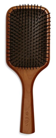 Massage your scalp while brushing your hair.