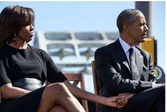 #44th #President Of The United States 🇺🇸 #BarackObama & #FirstLady Of The United States 🇺🇸 #MichelleObama hold hands as they listen to the remarks of Rep. John Lewis commemorating the 50th Anniversary of Bloody Sunday and the Selma to Montgomery civil rights marches on March 7, 2015.