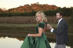 Gown from #GlitzNash @GlitzNash (Angiw Howington Photography) (Hair Kyle Kressin; MUA Tara Thomas; Model Mary Francis and Austin Cook) (Wilson Family Farm, Tennessee) http://glitznashville.com