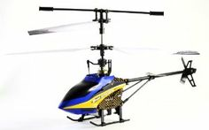 MJ New 502 4.5 Channel Metal Mid Size RC Helicopter with Gyro (Color May Vary) by MJ Toys. $44.50. Radio control. Flight time 5-9 mins. 4 channel functionality, traditional swash plate mechanics, metal frame, gyro. Wall Charger, 2 piece of Blade, and remote control included. Mid size three colors (Blue, Yellow, Red). The 502 comes in three colors, adding a level of customization for any pilot. With a traditional swashplate system as well as an on-board gyro, pickin...