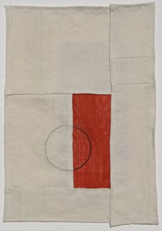 """Kathryn Clark: Sari, 2010. 12"""" x 16"""", Silk and steel wire on linen. Architecture and design come to quilts. Old meets new."""