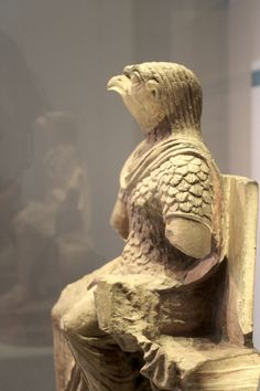 Another view of Horus dressed in Roman military costume.