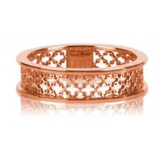 From the BIRKS MUSE Collection, this 18kt rose gold ring has the signature MUSE mesh motif. Available in sizes 6, 7 and 8. For all other sizes, please allow 6 to 8 weeks. #BlueBox via @Maison Birks