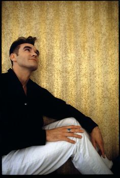 Morrissey, photograph by Chris Buck, 1992.