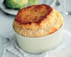 Classic Cheese Soufflé recipe adapted from a version in The Way to Cook by Julia Child. | Bon Appétit, May 2008