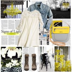How to Style Combat Boots by elena-starling on Polyvore