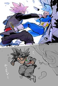 Vegeta vs Black Goku