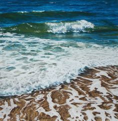 How to Paint Water in Pastel | Amy K. Sanders' Sea-Inspired Pastel Color Chart on http://www.artistsnetwork.com