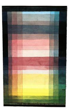 Paul Klee - Architektur der Ebene - L'architecture de la plaine - 1923