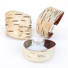 Birch+bark+cuff+bracelet+The+Large+by+bettula+on+Etsy,+$60.00