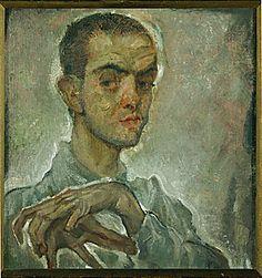 Max Oppenheimer - Portrait of Egon Schiele