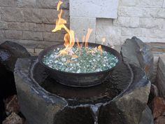 Glass fire pit in wood deck | Kingsford - Firepit . Ideas (1534) . New Ideas . Forum ...