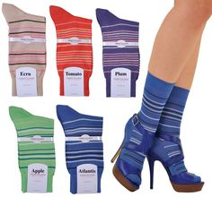 Portofino Stripe Ankle Sock Five PairGift Set Luxury Christmas Gifts, Luxury Gifts, Socks And Heels, Ankle Socks, Luxury Socks, Womens Socks, Luxury Fashion, Cotton, Shopping