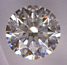 1.64-Carat Round Cut Diamond    This Excellent-cut D-color, and VS2-clarity diamond comes accompanied by a diamond grading report from GIA   $23074.80