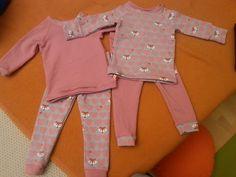 Weihnachtsgeschenke für mein Mädchen in Form von Schlafanzügen