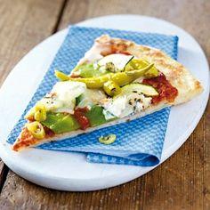 Das Rezept für Schnelle Pizza mit Gemüse & Gorgonzola und weitere kostenlose Rezepte auf LECKER.de