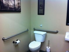 How much do we love our customers? Even our bathrooms are spotless!   http://solutionsautomotive.com/