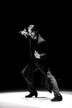 JOAQUÍN CORTES flamenco dancer, known internationally, born in 1969 in Córdoba, Spain