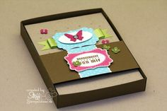 Karten Geschenkset mit 4 Karten • Stempelwiese