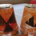 We made pumpkin exploration cups in preschool