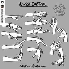 Drawing Wrist