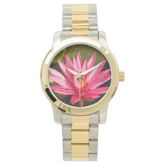 Lotus Flower in the Nature Wrist Watch Yoga Gifts, Lotus Flower, Michael Kors Watch, Bracelet Watch, Watches, Nature, Accessories, Naturaleza, Wristwatches