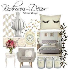"""Bedroom Decor"" by vanessdev on Polyvore Room Decoration #DIY #bedroom #decoration"