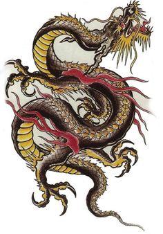китайский дракон рисунок: 20 тыс изображений найдено в Яндекс.Картинках
