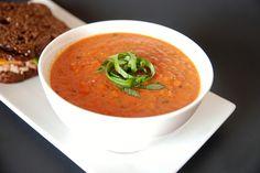carrabas tomato soup yummy!