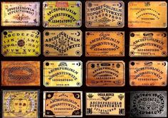 Vintage Ouija Boards Digital Collage Sheet by mystere on Etsy, $3.95