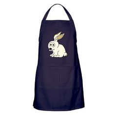 Luc Lapin, a small rabbit Apron (dark)