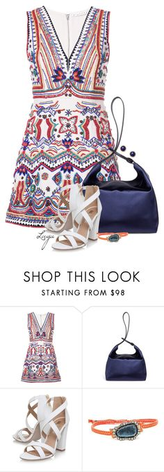 """""""Summer Evening"""" by lagu on Polyvore featuring Alice + Olivia, TradeMark, Miss KG and Kimberly McDonald"""