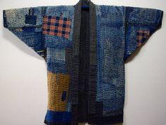 Japanese Fisherman's Winter Boro Jacket