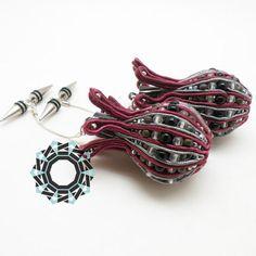3D Soutache Earrings
