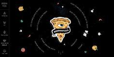 Buddha Pizza by Solar Digital Best Pizza Delivery, Web Design Inspiration, Cool Logo, Porsche Logo, Buddha, Darth Vader, Website, Logos, Illustration