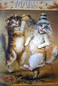 Calendar Cats Post Cards, Maurice Boulanger