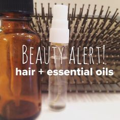 Stengthening hair spritz: Combine 10 drops each of rosemary, lavender, and cedarwood in a glass spray bottle with water and spritz on scalp twice daily.