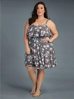Torrid. Okay I'm going to have to go try this one on!! So cute! #PlusSizebraideas